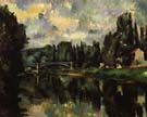 Paul Cezanne Bridge over the Marne at Creteil