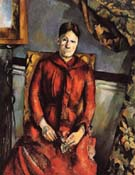 Paul Cezanne Madame Cezanne in the Yellow Chair