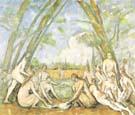 Paul Cezanne The Large Bathers