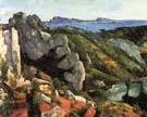 Paul Cezanne Rocks at L'Estaque 1882-85