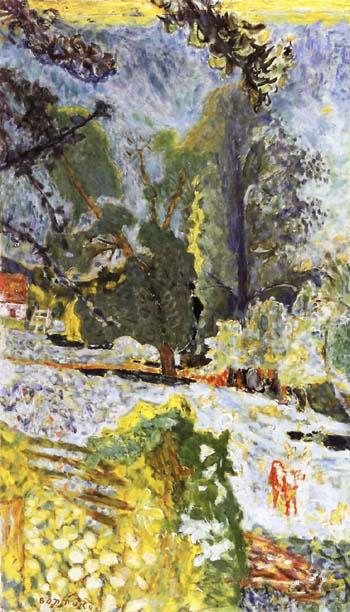 Pierre Bonnard Normandy Landscape 1920