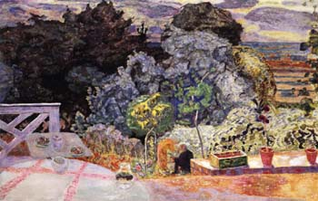 Pierre Bonnard The Terrace 1918
