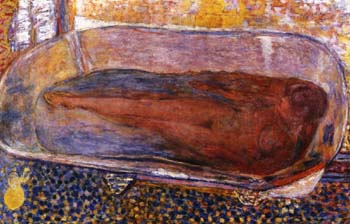 Pierre Bonnard The Large Bath, Nude
