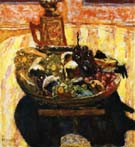 Pierre Bonnard Stll Life with Fruit Bowl 1933