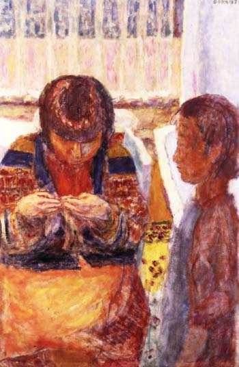 Pierre Bonnard The Lesson