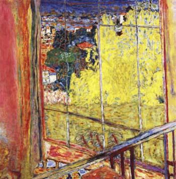 Pierre Bonnard Studio with Mimosas 1938