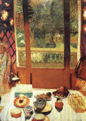 Pierre Bonnard The Dining Room Overlooking the Garden