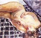 Pierre Bonnard Reclining Nude 1909