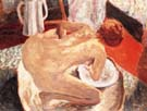 Pierre Bonnard Woman Bathing 1912