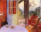 Pierre Bonnard The Dining Room in the Country 1913