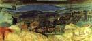 Pierre Bonnard Landscape at Le Cannet 1928