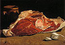 Claude Monet Still Life with Piece of Beef Paris 1864