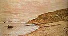 Claude Monet Cape of La Heve Saint Adresse 1864