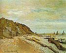 Claude Monet Boatyard near Honfleur 1864