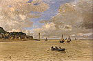 Claude Monet Light House at the Hospice at Honfleur 1864