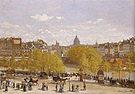 Claude Monet Quai du Louvre Paris 1866