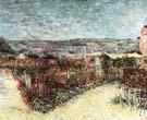 Vincent van Gogh Allotments on Montmartre 1889