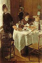 Claude Monet The Luncheon 1868