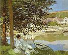 Claude Monet The Seine at Bennecourt 1868