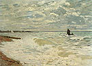 Claude Monet The Sea at Le Havre Summer 1868