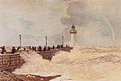 Claude Monet The Jetty at Le Havre Summer 1868