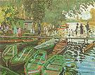 Claude Monet Bathers at La Grenouillere Bougival 1869