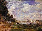 Claude Monet The Basin at Argenteuil 1872