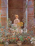 Claude Monet Camille Monet at the Window Argenteuil 1873