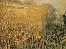 Claude Monet Boulevard des Capucines Paris 1873