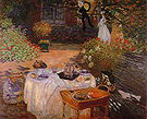 Claude Monet The Luncheon Argenteuil Summer 1873