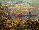 Claude Monet Marine view 1874