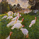 Claude Monet The Turkeys 1876