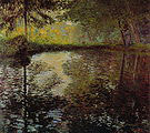 Claude Monet Pond at Montgeron 1877