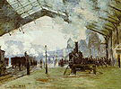 Claude Monet The Gare Saint Lazare 1876