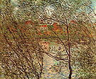 Claude Monet The Banks of the Seine Courbevoie 1878