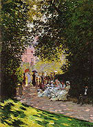 Claude Monet Parisians Enjoying the Parc Monceau 1878