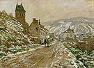 Claude Monet The Road to Vetheuil 1879