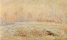 Claude Monet Hoarfrost near Vetheuil 1880