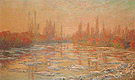 Claude Monet Ice Thawing on the Seine 1880