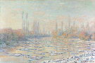 Claude Monet Ice  Floes 1880