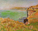 Claude Monet Cliff at Varengeville 1882