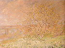 Claude Monet Spring Poissy 1882