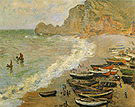 Claude Monet Etretat 1883