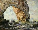 Claude Monet The Manneporte Etretat 1883