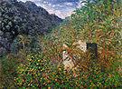 Claude Monet Valley of Saaso Bordighera 1884
