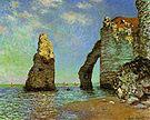 Claude Monet The Cliffs at Etretat 1885
