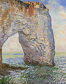 Claude Monet The Manneporte Etretat II 1886