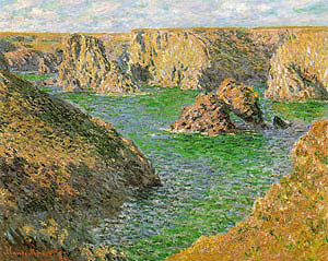 Claude Monet Port Domois Belle Ile 1886
