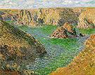 Claude Monet Port Domois Belle Ile 1886