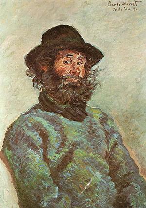 Claude Monet Poly Fisherman at Kervillaouen 1886